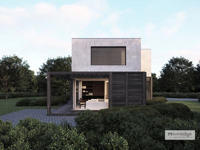 Houten huis Livinlodge