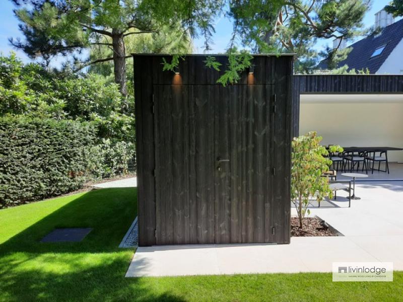 Modern tuinkantoor in regio Gent | Livinlodge
