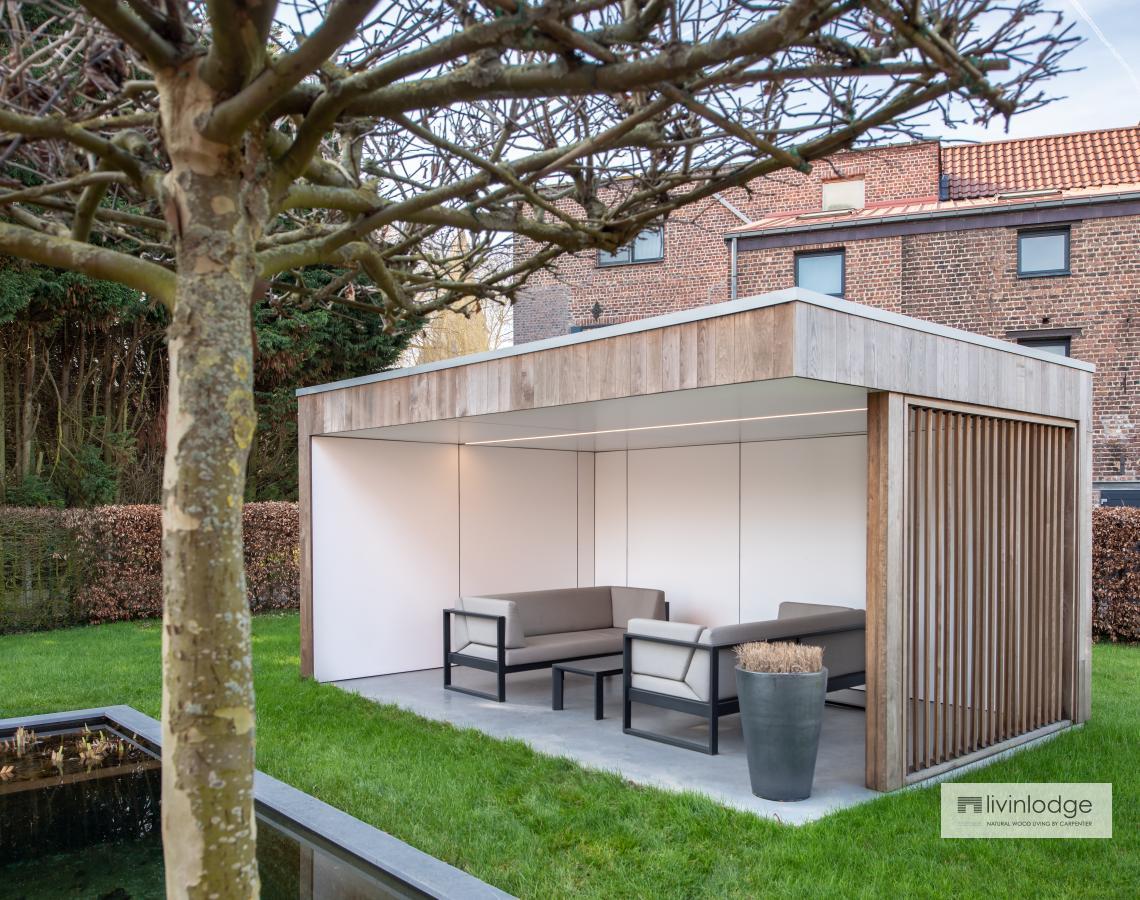 Houten shutters -Bijgebouwen op maat