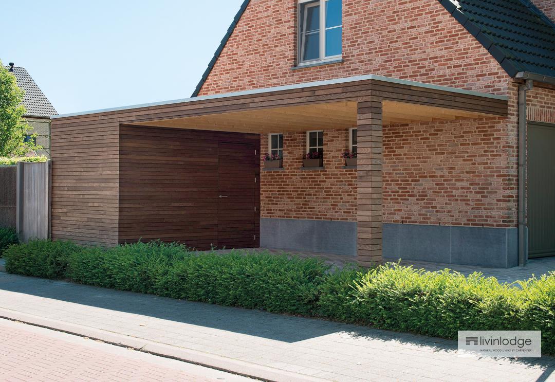 Moderne Carports | Livinlodge - Houten Bijgebouwen