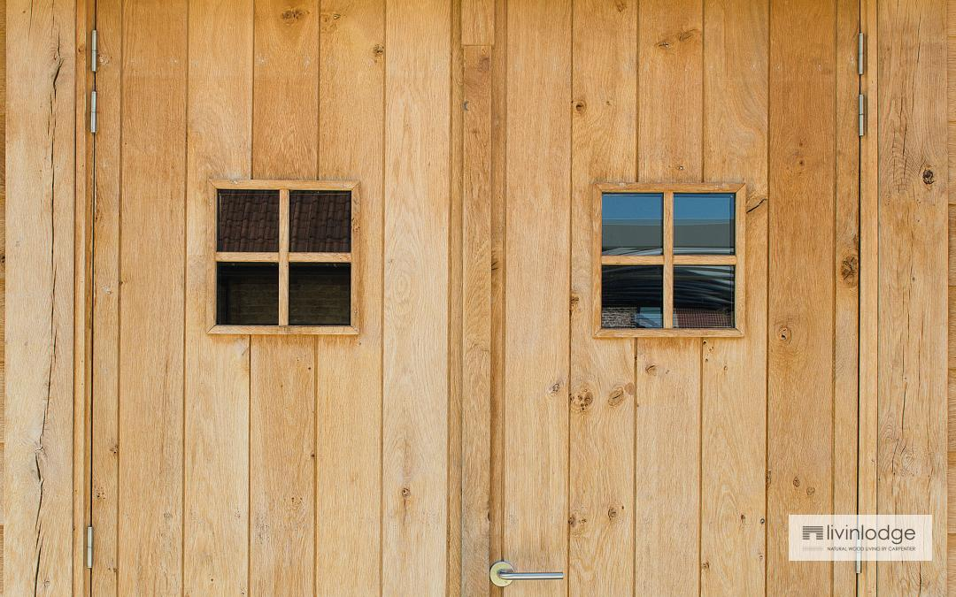 Duurzame houten bijgebouwen op maat