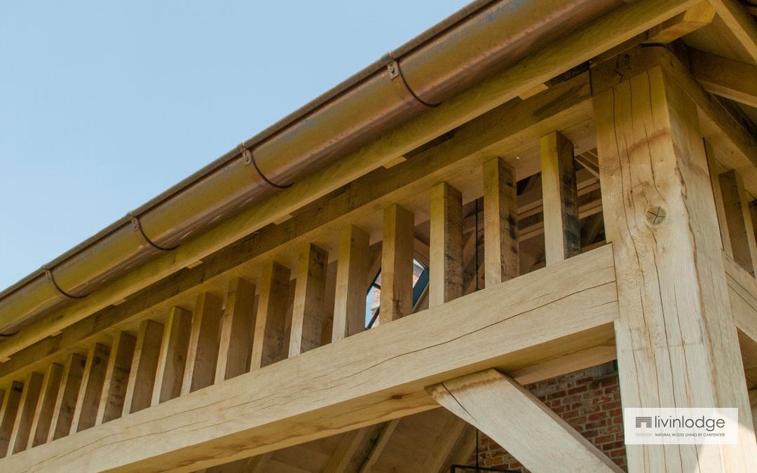 Duurzame houten terrasoverkapping op maat