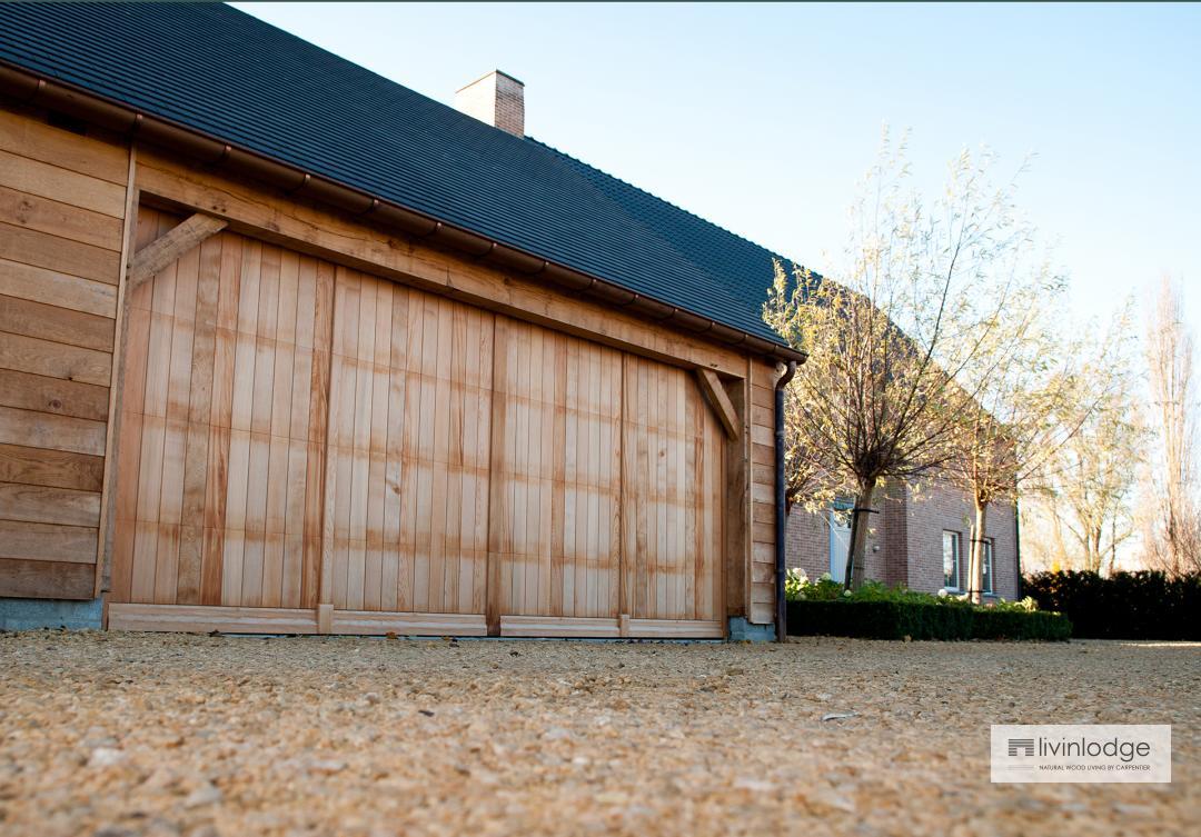 Klassieke carports livinlodge houten bijgebouwen