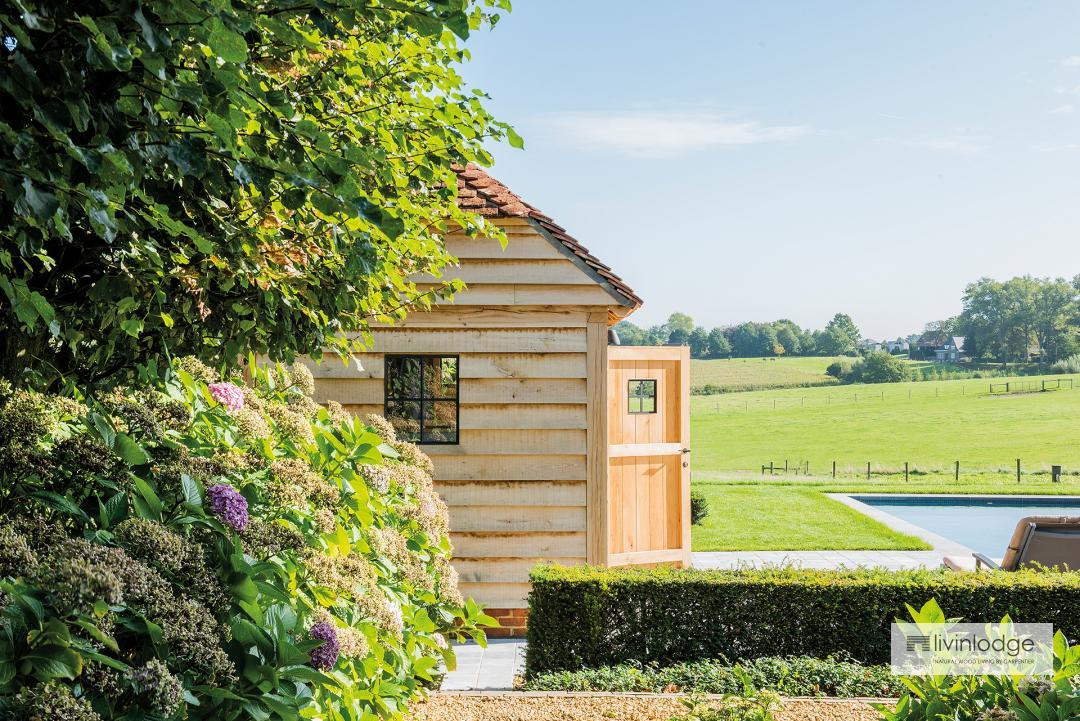 Eiken Cottage Poolhouses - Houten Bijgebouwen op maat