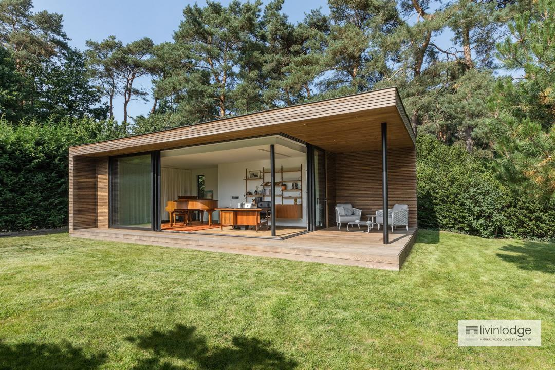 Moderne tuinkantoren - houten bijgebouwen op maat.