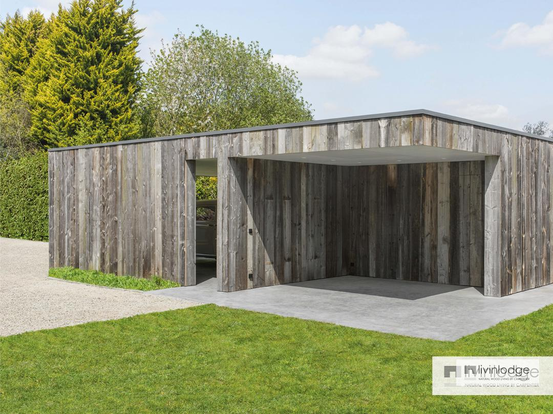 Houten design carport | Livinlodge