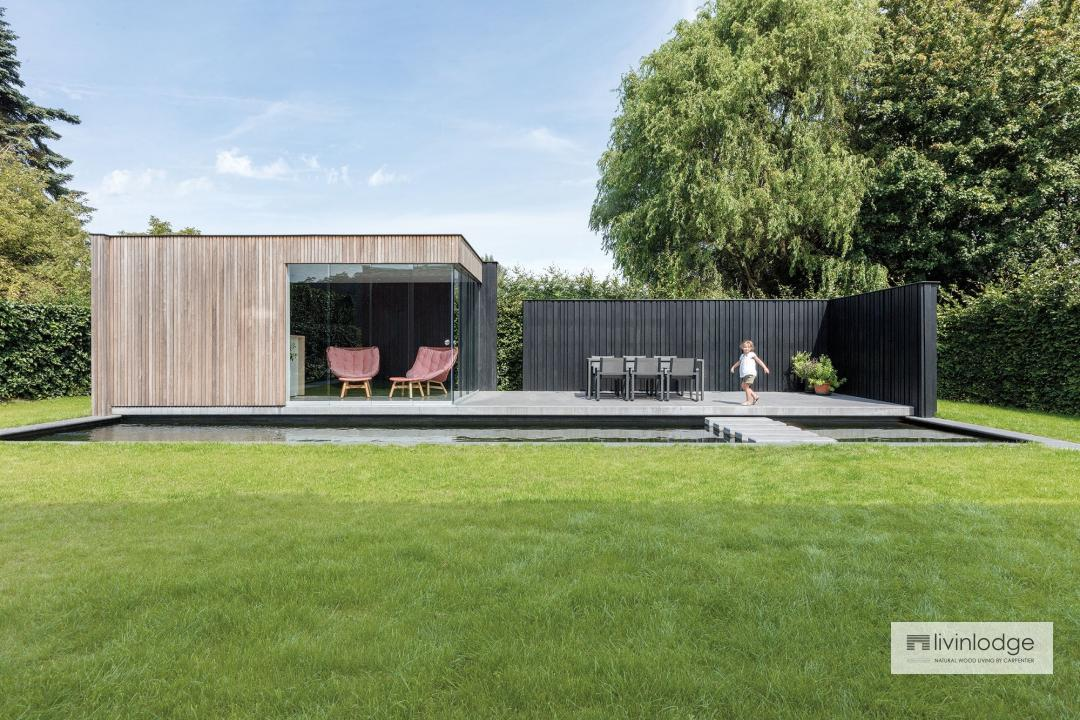 Pure poolhouse. Project Staelens, Tielt