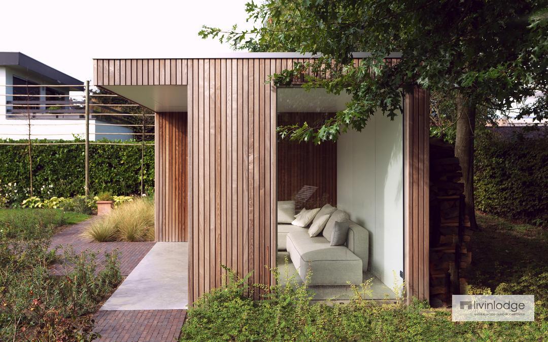 Houten terrasoverkapping | Bijgebouwen op maat