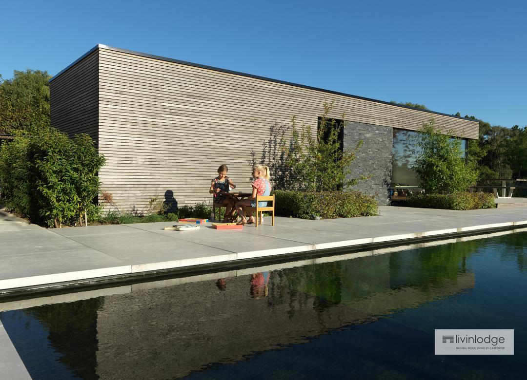 Moderne Poolhouses - Houten Bijgebouwen op maat