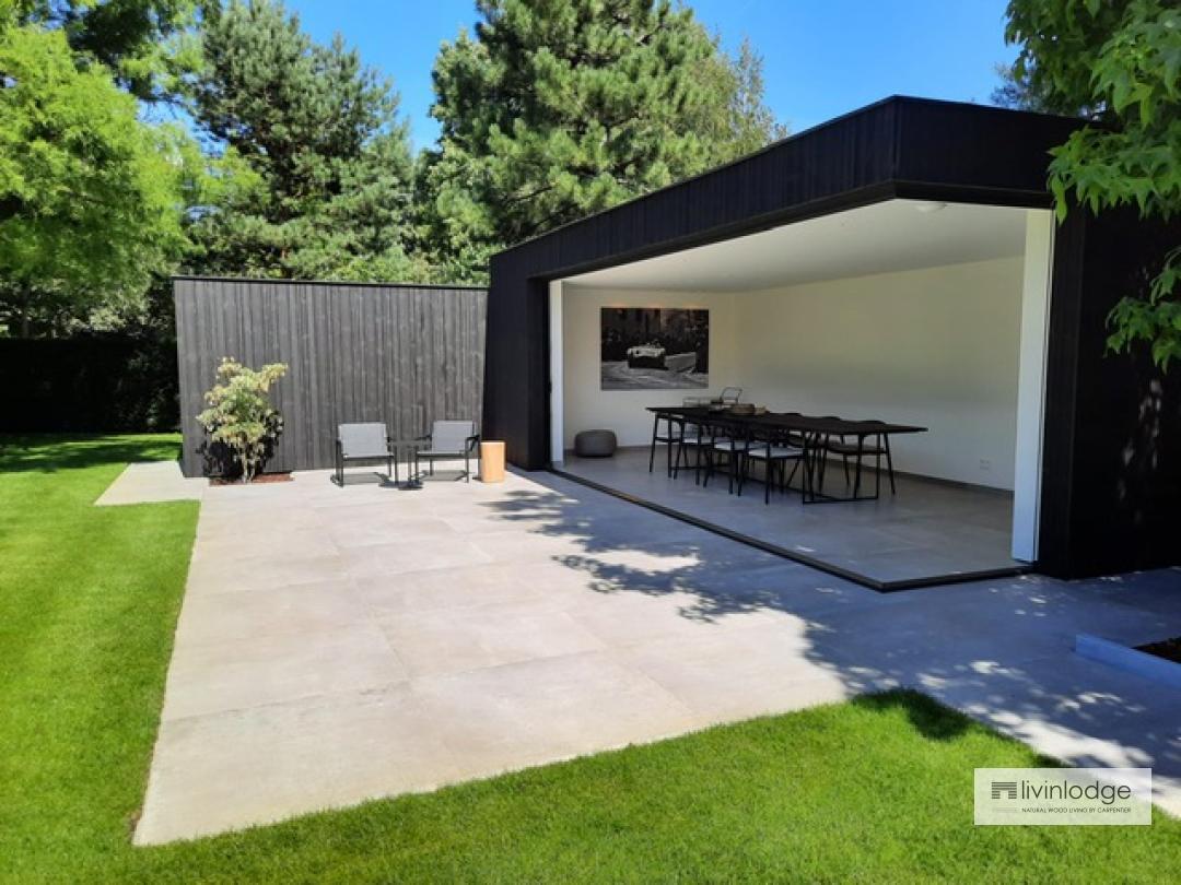 Moderne poolhouse op maat | Livinldoge