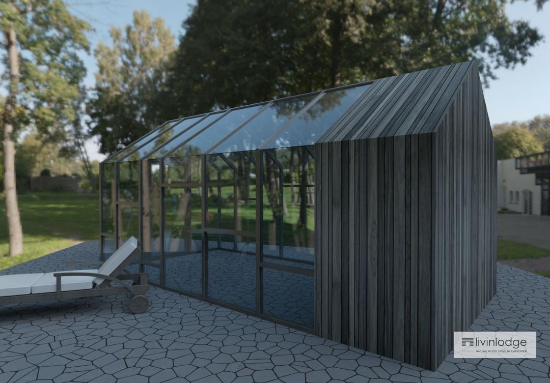 Eiken veranda en orangerie - houten bijgebouw op maat
