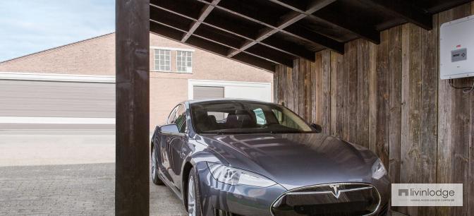 duurzame carports met zonnepanelen