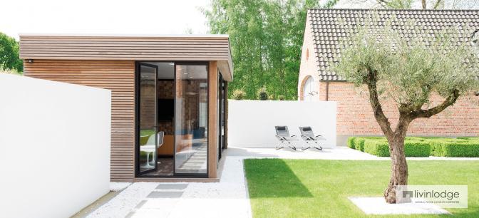 moderne tuinkantoren - houten bijgebouwen op maat